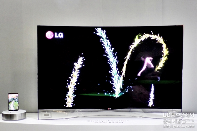 55inch Full HD Curved OLED TV Panel