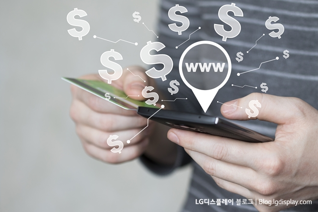 Business button www web currency dollar network